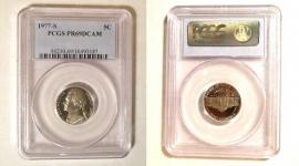 1977-S 5c Jefferson Nickel Proof PCGS PR69 DCAM