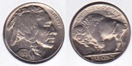 1936 Higher grade circulated United States Buffalo Nickel