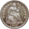 Liberty Seated Dime (1837-1891)