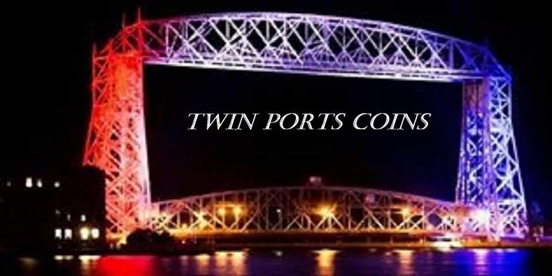 Welcome to TWIN PORTS COINS.COM - TWIN PORTS COINS.COM