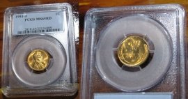 1954-D Lincoln Wheat Penny, PCGS Graded MS65RD