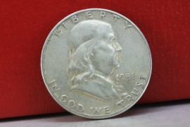 1951 S Franklin Half extremely nice